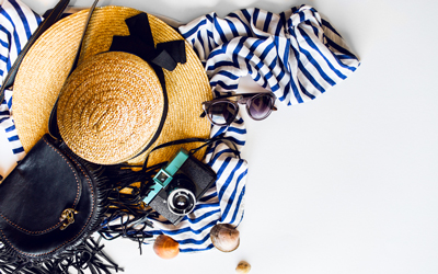 バカンス中も美しく! 夏の旅行バッグに入れておきたい持ち物5つ