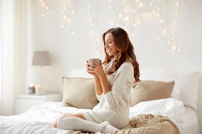 「かわいい」はキープ。冬の寒さを防ぐルームウェアの着こなし術