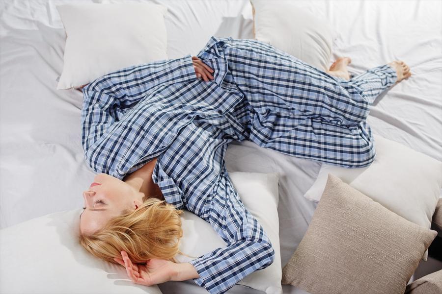 パジャマを着てぐっすり眠ろう