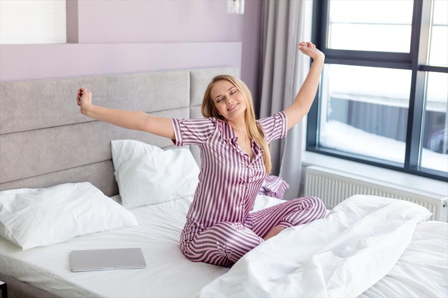 パジャマと一緒に環境も整えよう!夏でも快眠するためのポイント